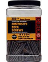 ( CD234FP350 ) #10x2-3/4 Composite Deck Screw Fire Pit (350)