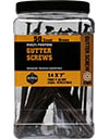 ( GTR147B50 ) #14 x 7in Star Drive Gutter Screws - Brown / 50 per Carton