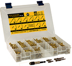 ( BAK ) Bronze Star ACQ Compatible Star Drive Wood Screw Assortment Kit