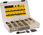 ( CFAK ) Cabinet / Finish Screw Star Drive Wood Screw Assortment Kit